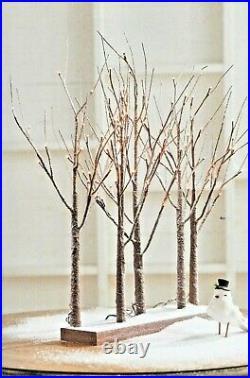 30 CHRISTMAS LIGHTED TREE GROVE Raz Imports CHRISTMAS 3800926 NEW SuPeR PReTTy