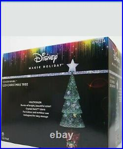 3.5ft GEMMY MICKEY MOUSE DISNEY. TREE LED Lights Christmas Outdoor Decoration