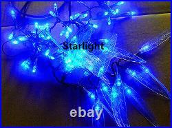 4ft LED Willow Weeping Tree Christmas Light Home Wedding Decor 480pcs LEDs Blue