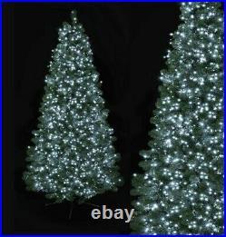 500/750/1000/1500 LED Xmas Tree Fairy String Lights Christmas Wedding White BNIB