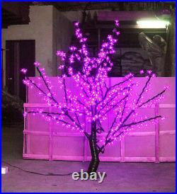 5ft LED Cherry Blossom Tree Outdoor Wedding Garden Holiday Light Decor 480 LEDs