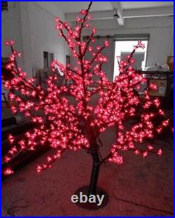 648pcs LEDs 5ft LED Christmas Light Cherry Blossom Tree Red Outdoor Use
