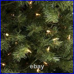 6 Foot Pre-lit Artificial Christmas Tree Fake Spruce Holiday Decor Clear Lights