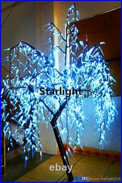 6ft White LED Willow Tree Outdoor Christmas/Garden/Wedding/Home/Decor 945 LEDs