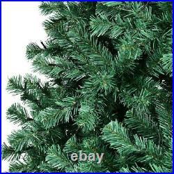 7.5 ft Pre-Lit Artificial Christmas Tree Hinged 400 Lights