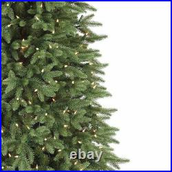 Balsam Hill Stratford Spruce 7.5 Foot Christmas Tree with White Lights (Used)
