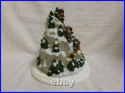 Boyds Bear Winter On Bear Mountain 27609 1E Lighted Christmas Tree