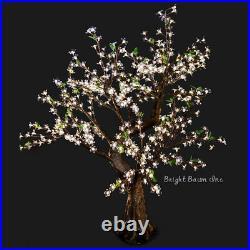 Bright Baum LED Light Cherry Tree 4.8-Feet Warm White Christmas Tree Outdoor