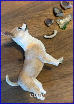 DANBURY MINT Chihuahua DOG LIGHTED CHRISTMAS TREE No Star Retired HTF