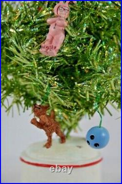 Department 56 A Christmas Story Tinsel Tree (2005) Lighted 12 Rare FLAWS