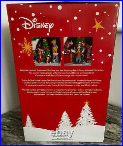 Disney 17.5 Animated Christmas Tree With Led Lights And Music New