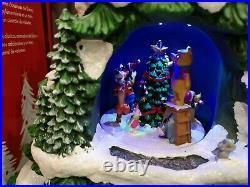 Disney Christmas Tree 17.5 Music Box LED Lights Xmas Decoration UPS SEE VIDEO