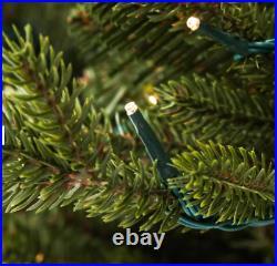 GE 7-ft Asheville Fir Pre-Lit Traditional Artificial Christmas Tree 500 LIGHTS