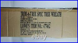 Ge 5 Ft Pre-lit Brown Winter Berry W 200 Multi Color Led Lights Tree New