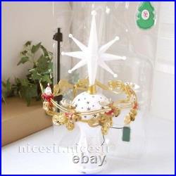 Hallmark 2014 Here Comes Santa Claus Magic Light Music Xmas Tree Topper Decor