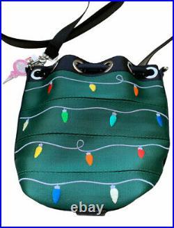 Harveys Seatbelt Christmas Tree Streamline Mini Park Hopper EUC Charms Lights
