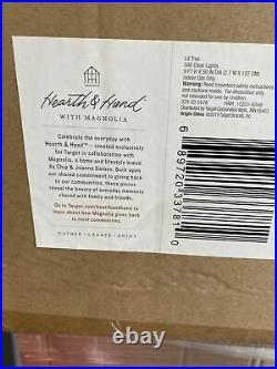 Hearth &Hand With Magnolia 9 Prelit Christmas Tree 500 Lights Clear