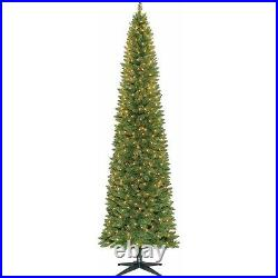 Holiday Time Pre-Lit 9' Brinkley Pine Artificial Christmas Tree, Clear Lights
