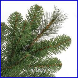 Home Heritage 9' Artificial Cascade Pine Christmas Tree Color Lights (Open Box)