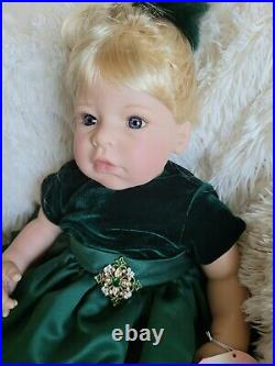 Lee Middleton Doll O Christmas Tree Light Limited edition of 374 Blonde hair