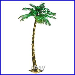 Lightshare 5FT Palm Tree, 56LED Lights, Decoration For Home, Party, Christmas