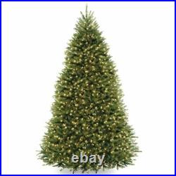 National Tree Company 9 ft Dunhill Fir Pre-lit Artificial Christmas Tree WithStand