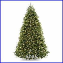 National Tree Company Dunhill Fir 9 Foot Prelit Tree with Metal Stand (Open Box)