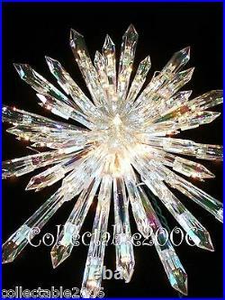 Nativity CHRISTMAS GIANT PRELIT TREE TOPPER 50 lights Random twinkle
