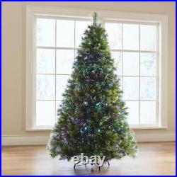 Northern Lights Christmas Tree LED Fiber Optic Tips 23 Pattern 7.5 Ft