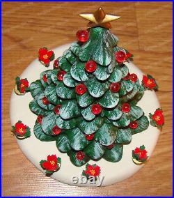 O'Christmas Tree Heritage Village (Dept. 56 by Enesco 4059143) Lighted Porcelain