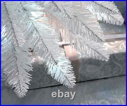 Pre-Lit Christmas Tree White Pencil 6.5ft 180 LED Lights 6ft WeRChristmas New