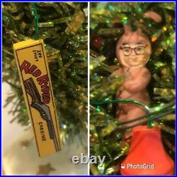 RARE Dept 56 A Christmas Story Tinsel Tree (2005) Lighted EXCELLENT! 12