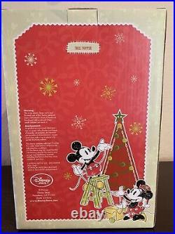 Rare Disney World Tinker Bell Light-Up Holiday Christmas Tree Topper 2009