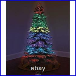 The 6 ft. Thousand Points Of Light Indoor/Outdoor Christmas Tree 23 Light Modes