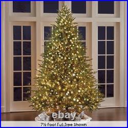The World's Best Prelit Fraser Fir Christmas Tree 8.5 Slim LED White Light