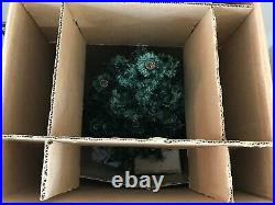 Vintage NOMA Bubble Light Christmas Tree 32 20 Socket Original Box Working C-7