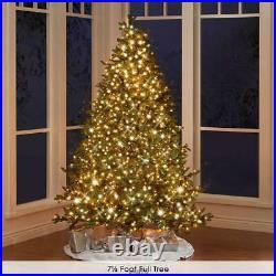 World Best Prelit Douglas Fir (9.5' Slim) WHITE LIGHTS Christmas Tree